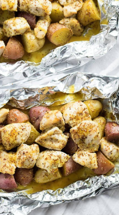 Campfire Packet Homefries