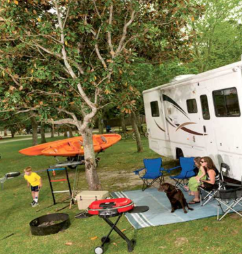 Tips For Creating Your Perfect RV Yard